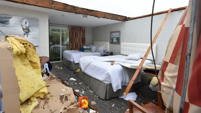 It was one year ago that a tornado tore the roof off the Cape Sands Inn in West Yarmouth. Three tornadoes touched down on the Cape that day, with parts of Yarmouth and Harwich sustaining the most damage.