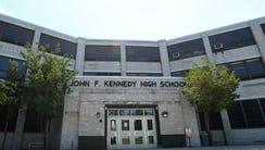 John F. Kennedy High School in Paterson.