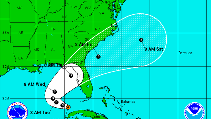 Tropical system expected to dump rain on Southwest Florida voters