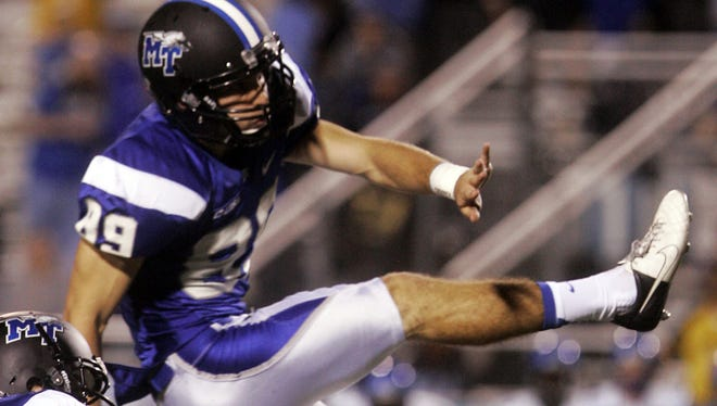MTSU kicker Cody Clark was named the Conference USA special teams player of the week on Monday.