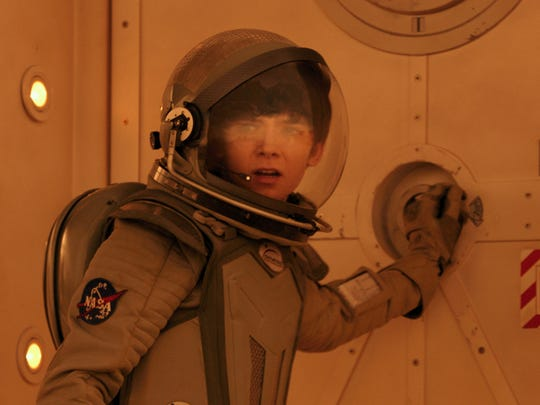 "Asa Butterfield stars in ""The Space Between Us."""