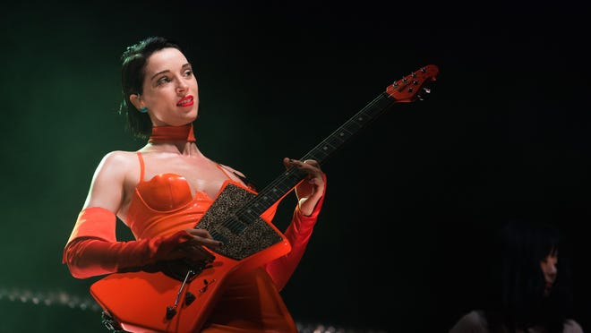 An excerpt of St. Vincent's 2018 ACL Fest set airs at 9:50 p.m. on Saturday.