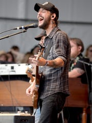 Ben Bridwell of Band of Horses performs at the Pilgrimage Music & Cultural Festival in Franklin, Tennessee last year.