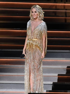 NASHVILLE, TN - NOVEMBER 02:  Co-host Carrie Underwood
