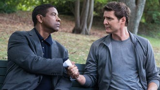"Denzel Washington (left) and Pedro Pascal star in ""The Equalizer 2."""