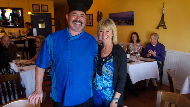 Christian and Mari Vivet, owners of Blue Windows French Bistro in south Fort Myers, plan to open a second restaurant, Bleu Rendezvous, on Sanibel in May.