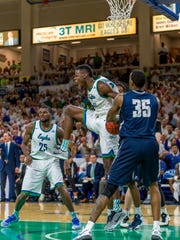 FGCU graduating forward Demetris Morant, 24, had the