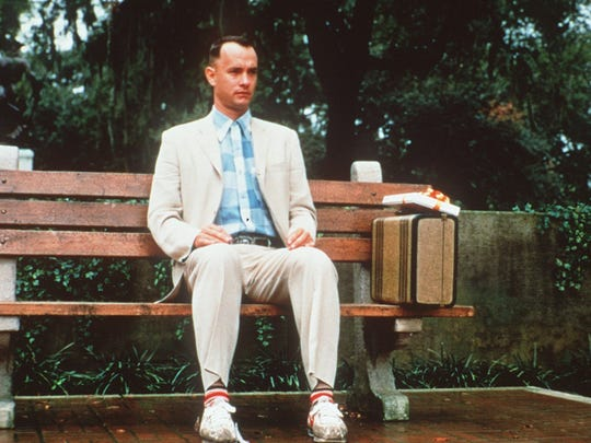 Tom Hanks found that life is like a box of chocolates