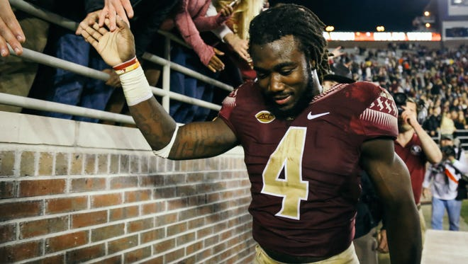Former Florida State tailback Dalvin Cook was selected by the Minnesota Vikings as the 41st pick in the 2017 NFL Draft on Thursday night.