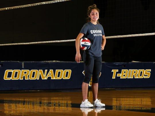 Coronado junior Alex Hernandez is one of the team's