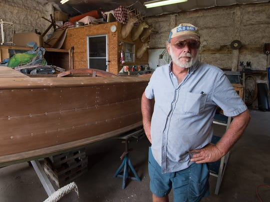 Dean Johnson was the public defender who represented Earl Bradley during his bench trial. These days, he works on restoring his boat at a Lewes marina.