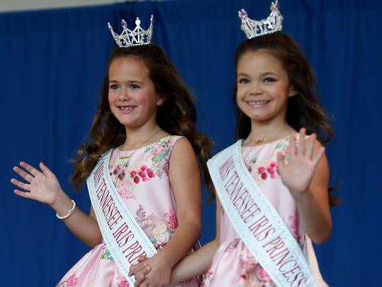 Miss Tennessee's Iris Princesses Madeline DeMarcus