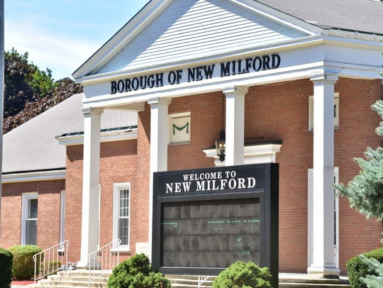 New Milford sign