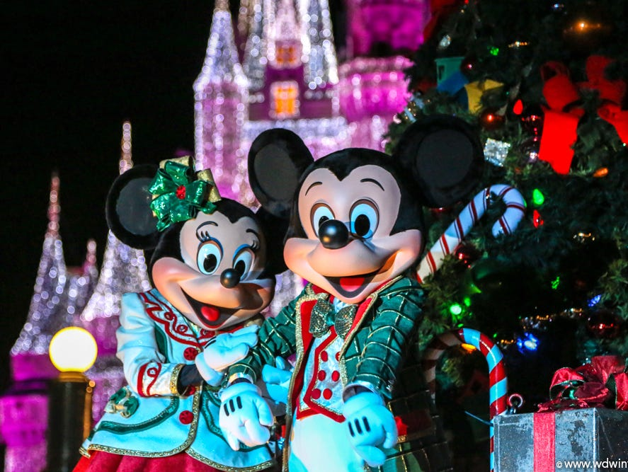 Celebrate the magic of the season in the holiday wonderland of Magic Kingdom Nov. 9-Dec. 22.