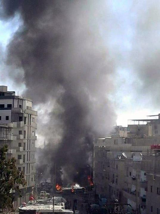 AP MIDEAST SYRIA I SYR