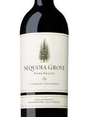 The Sequoia Grove Napa Valley cabernet sauvignon is a classic cab that would pair well with a steak.