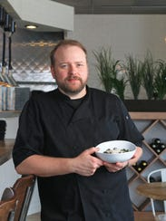 The restaurant of Dallas McGarity, chef and owner of