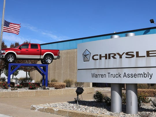The Fiat Chrysler Warren Truck Assembly Plant in Warren,