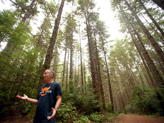 Mark Schorn, a volunteer with the North Kitsap Trails