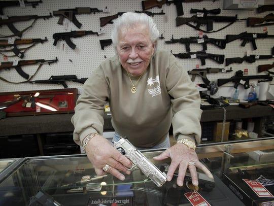 Don Davis, at his store in Lafayette Square, 2010