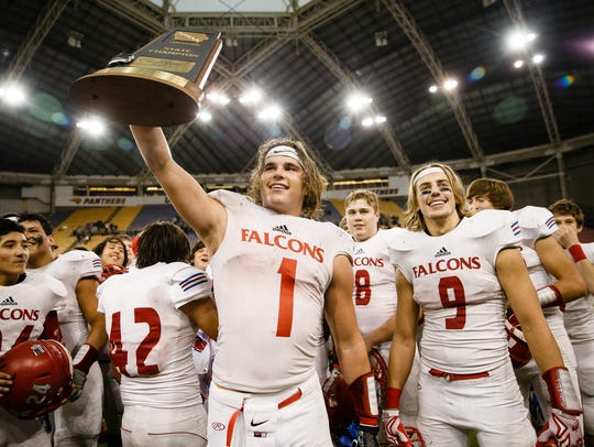 West Sioux's Chase Koopmans was a do-it-all playmaker for the Falcons last season.