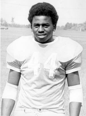 Former Howell standout Bill Hill, shown in a 1976 photo.~