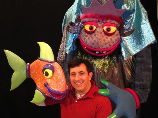 """When You Wish Upon a Fish"" is one of many Madcap Puppet"
