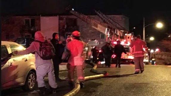 20 people were displaced in a Mount Airy apartment fire early Monday