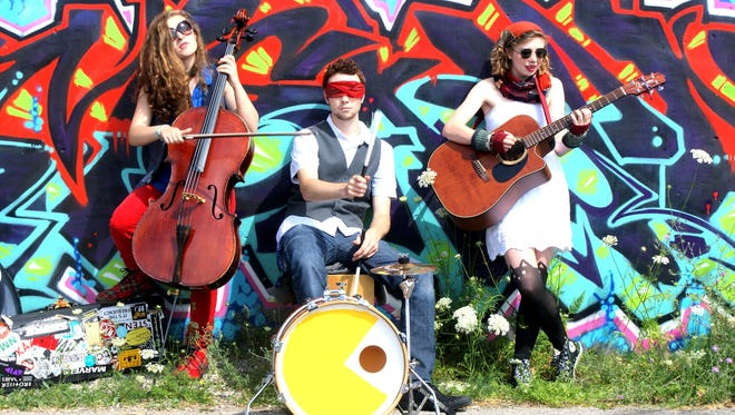 Savannah Buist, Michael Dause and Katie Larson are the Traverse City-based band the Accidentals.