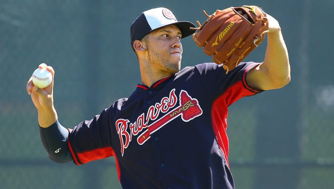 Atlanta Braves shortstop Andrelton Simmons hit .248 and drove in 59 runs last season.