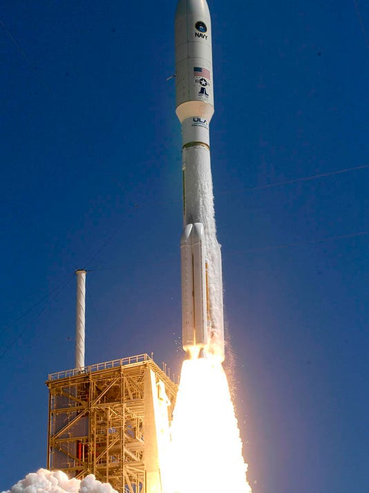 Atlas V MUOS Launch