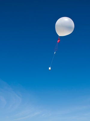 The mystery behind a Florida's man death became clearer when police discovered Alan Jay Abrahamson had purchased a weather balloon - one that could carry a gun far away.