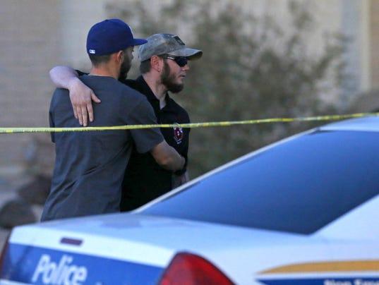Crime scene in Phoenix