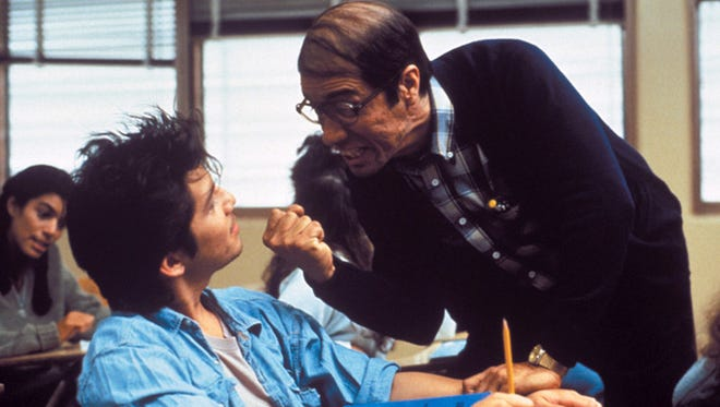 """Edward James Olmos and Lou Diamond Phillips star in """"Stand and Deliver."""""""