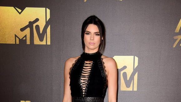 Kendall Jenner attends the 2016 MTV Movie Awards at