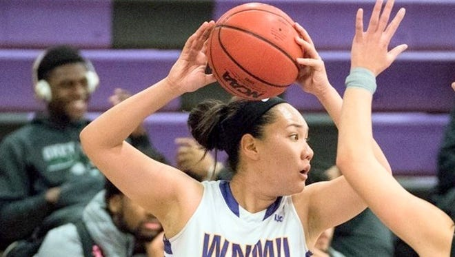 Jade Botelho scored a game-high 19 points against West Texas A&M.