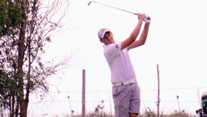 Harry Wetton's final round 66 was the best round of any of the 104 golfers in the field on Tuesday and was tied for the lowest round during the tournament as BYU-Hawaii's Jacob Godfrey fired a 66 during the first round.