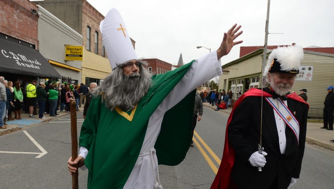 The Town of Onancock held the inaugural O'Nancock St. Patrick's Day Parade on Sunday, March 16, 2014.