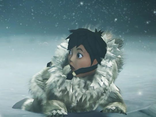 "In ""Never Alone,"" Nuna teams up with a fox to solve"