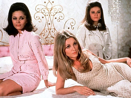 Sharon Tate (center) as Jennifer North in 'Valley of
