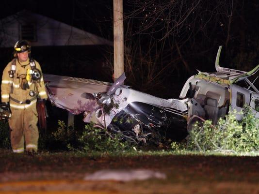 Plane crash near Evangel University in Springfield
