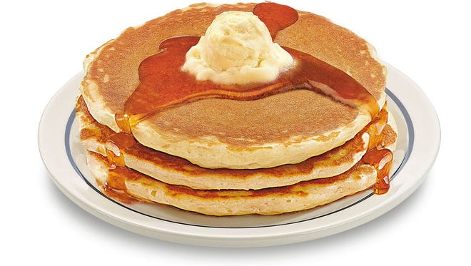 YOu can get IHOP pancakes for 58 cents today.