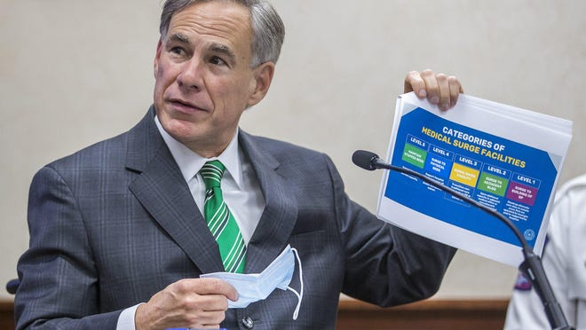 Texas Gov. Greg Abbott shared three claims about the coronavirus in Texas, PolitiFact checked them out.