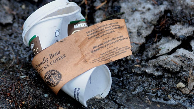 "Starbucks has not succeeded at making ""greener""containers catch on."