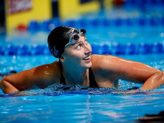 Swimming: U.S. Olympic Team Trials - Swimming