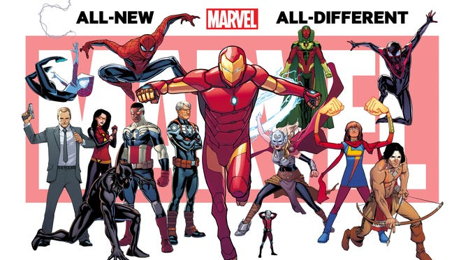 Iron Man and other heroes play significant role in the new Marvel Universe of comic books coming this fall.