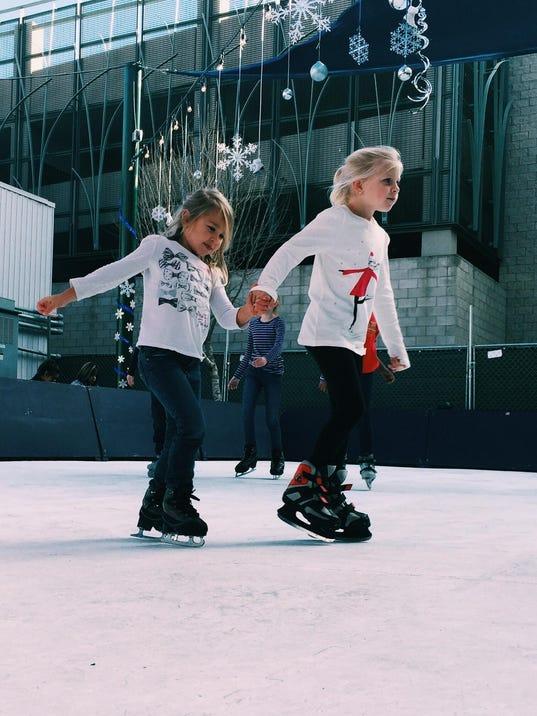 Sisters on ice