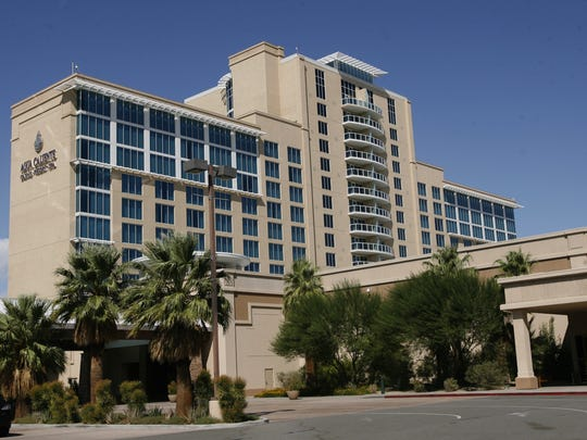This Desert Sun file photo shows the Agua Caliente Casino Resort in Rancho Mirage.
