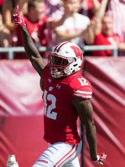 Natrell Jamerson started out at UW as a wide receiver, moved to cornerback and went out as a safety.