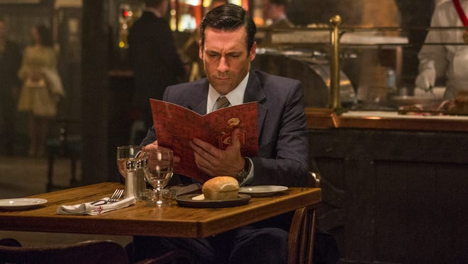 """Jon Hamm as Don Draper in a scene from Episode 9 of """"Mad Men,"""" which aired Sunday night."""